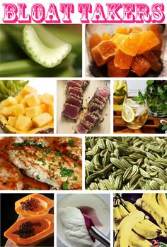 This is what you should eat if your feeling bloated!!