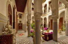 Patio. Riad Fès, Morocco © RIAD FES