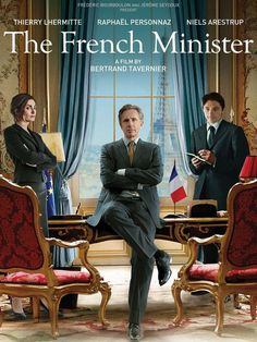 Minister of Foreign Affairs Alexandre Taillard de Vorms is a human whirlwind. In this hilarious send-up of diplomacy and international politics, he takes on American neo-cons, corrupt Russians and the opportunistic Chinese while his hapless speech writer endures the eccentricities of his megalomaniacal boss and his sycophantic entourage.  French, 114 min. http://ccsp.ent.sirsi.net/client/hppl/search/results?qu=tavernier+minister&te=&lm=HPLIBRARY&dt=list