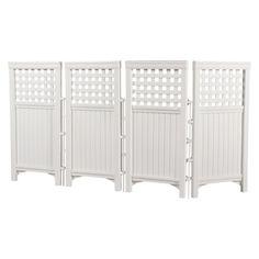 Suncast Outdoor Screen Enclosure - White