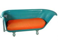 RePurpose : RePurposed Bathtub Bench - 30% Off Site Wide happening now - http://shop.repurposeshop.com