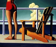 Kenton Nelson. Need to find this in print!