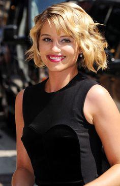 Diana Agron short hair