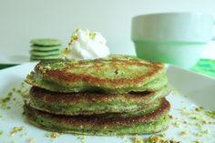 Pistachio Pancakes | 53 Amazing Pistachio Desserts