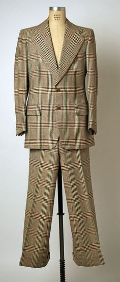 Wool Woman's Suit - Marc Bohan for the House of Dior 1971