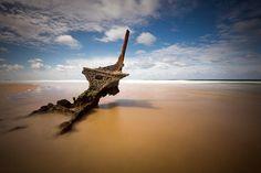 The Dicky shipwreck Caloundra Queensland Australia