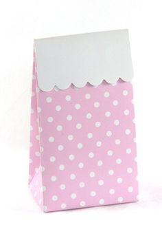 Sambellina Pink Polkadot Party Bag