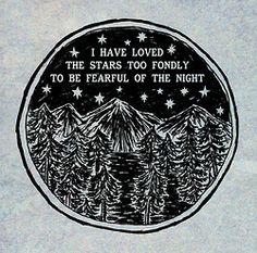 dark night, mountain, night skies, the darkness, stars, tattoo quotes, inspir, a tattoo, gods will
