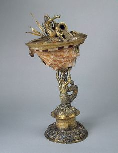 Conch Shell Cup    Germany, 1640-1670    The Hermitage Museum