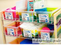 A day in first grade: Loving Math {how I set up my math block}