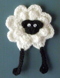 "pattern ""Pearl""  (the sheep) by Liz2006, via Flickr"