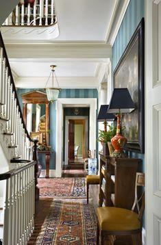 Gorgeous hallway or upstairs landing.