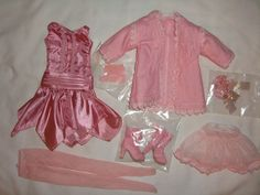 DELICATE BALANCE Ellowyne Wilde Tonner Doll OUTFIT LE 250 Pink Dress Boots Amber