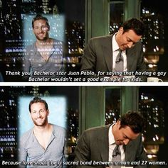 role model, funni stuff, laugh, jimmi fallon, gay bachelor, funny pictures, juan pablo, humor, thing