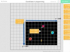 Coordinates in video game programming puzzle by James Potter