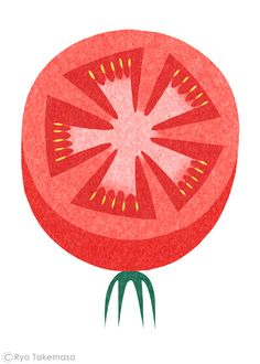 Ryo Takemasa tomato #illustration