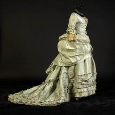 Dress, 1870's      From the collection of Alexandre Vassiliev