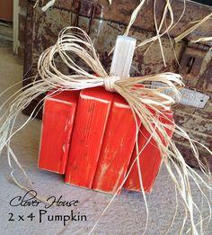Clover House: 2 x 4 Black Cats & Pumpkin