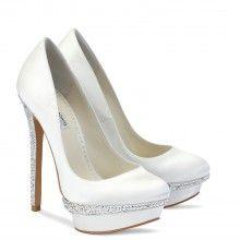 bridal accessori, idea, benjamin adam, wedding shoes, ivory wedding, weddings, heel, cameron, bridal shoes