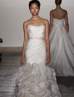 Rivini Mermaid Gown. Could totally see myself walking down the aisle in this. Amazing price too!