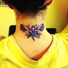 Epilepsy awareness butterfly