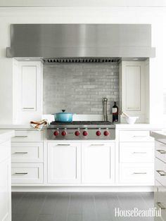 #Kitchen of the Month, December/January 2013. Design: Louise Brooks. Custom kitchen hood.