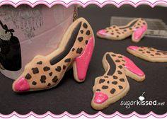 DARLING leopard cookies!  Google Image Result for http://sugarkissed.net/wp-content/uploads/2012/05/leopard-print-shoe-cookies.jpg