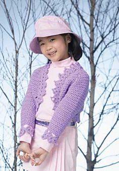 Ravelry: Crochet Bolero pattern by Patons