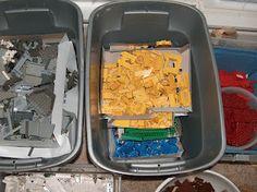Thrifty Texas Penny: Ways to Organize Legos