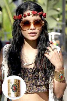 Vanessa Hudgens  bohemian style