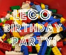another LEGO party - like the fill the cup relay idea