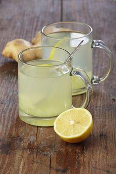 Ginger, Lemon and Honey Tonic