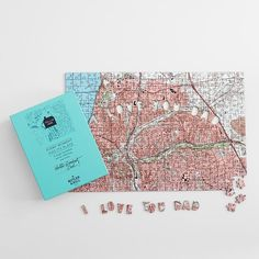awesom map, puzzl, gift idea