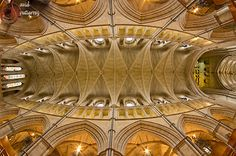 London Cathedral Look Up