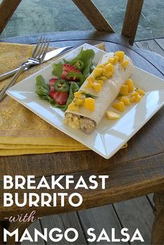 Breakfast burrito wi
