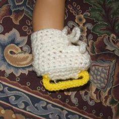 Free Crochet Pattern Baby Hockey Skates : Crochet - Ice Skating ! on Pinterest Ice Hockey, Ice ...