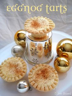 Egg Nog Tarts