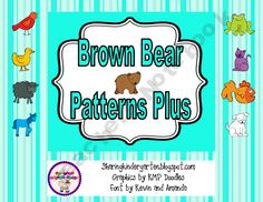 Brown Bear Pattern Pieces PLUS so much more...