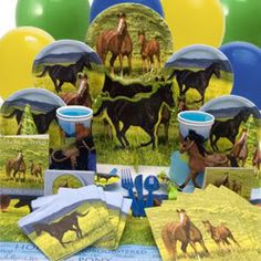 horse party ideas good stuff im going to use!