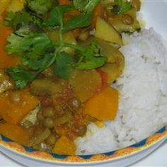Pumpkin Curry with Lentils and Apples Allrecipes.com