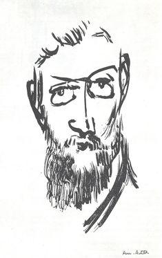 SELF PORTRAIT of Henri Matisse