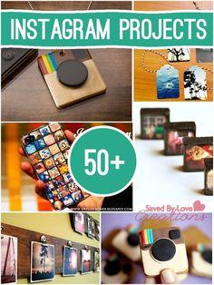 Over 50 Instagram Crafts to make