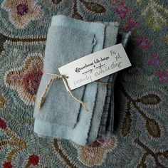 Pearly Everlasting  Hand Dyed Wool  1/4 by northwestfolkdesign, $15.00