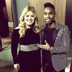 Miguel And Kelly Clarkson...Collaboration In The Works Soon?