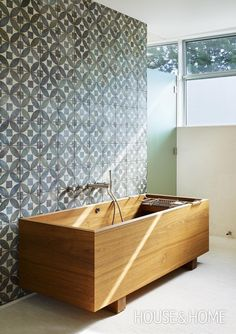 Bold Modern Bathroom | Photo Gallery: Modern Bathrooms | House & Home | design - Arriz Hassam/3rd UNCLE Photo by Tom Arban
