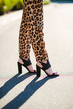 Into animal prints right now. ♥
