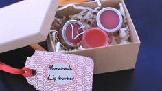 Homemade HomeLoving Lip Butter DIY
