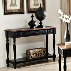 Gramercy Park Sofa Table by Intercon #HudsonsFurniture