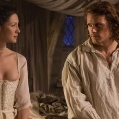'Outlander' Q&A: Sam Heughan On Filming Those Sexy 'Wedding' Episode Scenes