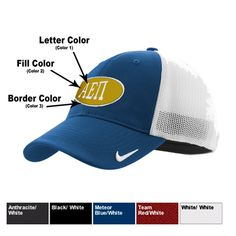 Nike Greek Mesh Back Cap $19.95 #Greek #Sorority #Fraternity #Clothing #Accessories #Golf #Nike #BackToSchool #Gifts #Clothing #Apparel #Clothes
